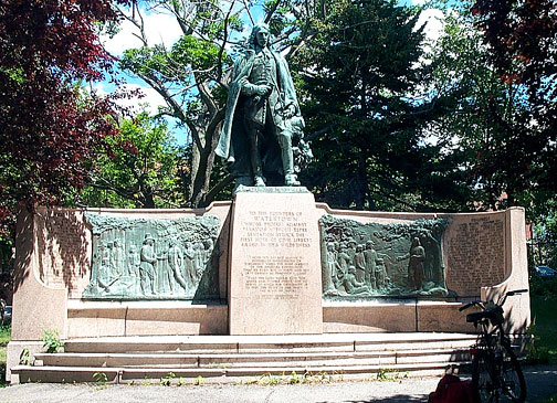 Watertown Founders Monument 1